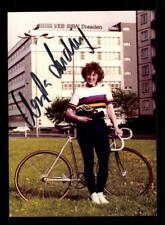 Christa Ludwig autografiada mapa original firmado ciclismo + a 200272