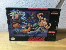 """Final Fight 2 "" Boxed Complete Super Nintendo / Snes / NTSC"