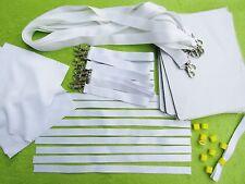 Sublimation Set,Mouse Mats,Lanyards,Wristbands,Microfiber Heat Press Print Blank