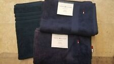 Tommy Hilfiger 2 Bath Towels,  Peacoat (Navy) NWT