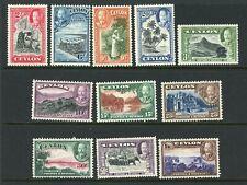 CEYLON 1935 - 1936 KING GEORGE V SCENES STAMP ISSUE