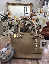 NWT Anne Klein Gold Dust New Recruits Mini Dome Satchel Handbag MSRP $75