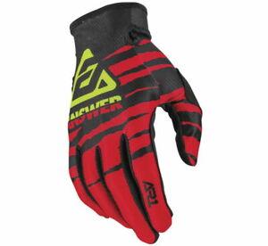 Answer Racing Men's A20 AR1 ProGlo Gloves Red/Black/Acid