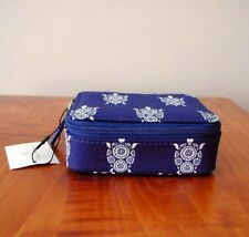 "NWT VERA BRADLEY TRAVEL PILL CASE (8 DAY) IN ""NEW"" SEA TURTLES MINT + TAG"