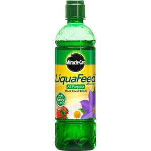 Miracle-Gro Liquafeed All Purpose Plant Food Refill Bottle Gun Insert 475ml Fee
