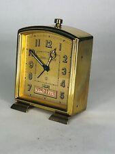 Vintage Jaeger LeCoultre Swiss Made Alarm Clock