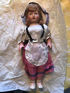 Vintage Papier-Mâché doll
