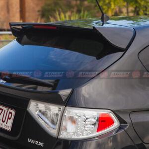ST Style Wing Spoiler For 2008-2013 Subaru Impreza WRX/STI G3 HATCH (UNPAINTED)