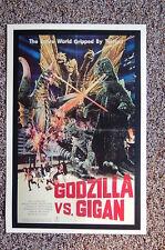Godzilla vs. Gigan Lobby Card Movie Poster