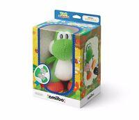 NINTENDO MEGA YARN YOSHI AMIIBO NEW BOXED Wii U