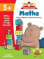 Help with Homework Maths 5+ by Autumn Publishing Ltd (Paperback, 2015)
