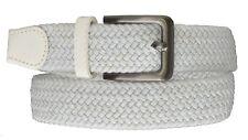 Marshal Wide Men's Elastic Stretch Belt Gunmetal Buckle Belt Casual Golf Belt