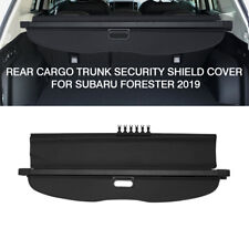 For Subaru Forester 2019 Car Trunk Shade Rear Security Cargo Cover Shield