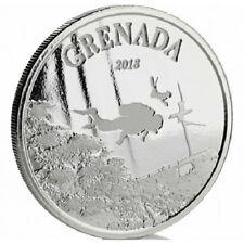 GRENADE 2 Dollars Argent 1 Once Paradis de la Plongée 2018