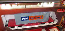 Piko Spur G 37727 NS Flachwagen Containerwagen P&O/Nedlloyd Container