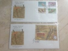 1995 Malaysia FDC- Traditional Malay Weapons - Series II (Pairs)