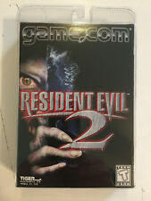 RESIDENT EVIL 2 NEW SEALED Cartridge for the GAME.COM/Tiger Game Machine