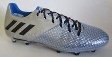 Adidas Messi 16.2 Fg Gray/Blue Men Cleats Soccer Men Shoes 8