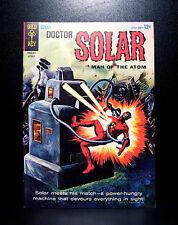 COMICS: Gold Key: Doctor Solar: Man of the Atom #9 (1964) - RARE (star trek)
