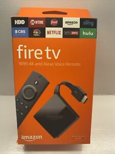 New And Sealed Amazon Fire TV Pendant 3rd Gen. 4K HDR Ultra HD UNUSED