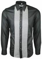 Dominic Stefano Chequered Smart Casual Men/'s Shirt RRP £29.99 Small-XXXL 263