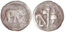 ☆ JULIUS CAESAR • ELEPHANT SILVER DENARIUS ☆ 3.16g 49 BC • CRAWFORD 443/1 ☆C3256