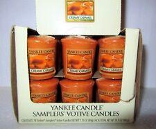 "Box Lot of 18 Yankee Candle Retired ""CREAMY CARAMEL""~ Sampler Votives ~ RARE~NEW"