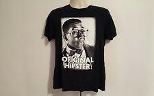 Family Matters Steve Urkel 80's 90's Original Hipster Adult Large Black TShirt