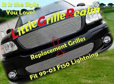 01-03 99 2000 Ford F-150 Lightning Billet Grille Combo
