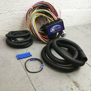 1960 - 1985 Alfa Romeo Ultra Pro Wire Harness System 12 Fuse fit street rod