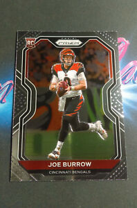 2020 Prizm Joe Burrow RC #307 Invest Top Rookie NFL Trading Card