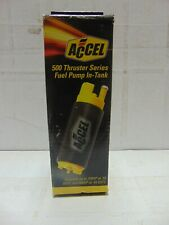 Accel 75169 Fuel Pump - Electric Elec Pump, 500 GM In-tank BRAND NEW