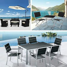 Glass Up to 6 Seats Garden & Patio Furniture Sets