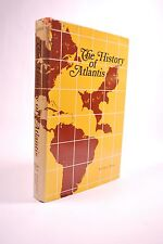 The History of Atlantis by Lewis Spence,  Stone Age, Maps