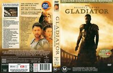 GLADIATOR with Russell Crowe Sign Select  NEW DVD FREE POST mmoetwil@hotmail.com
