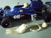 JACKIE  STEWART 1/18  FIGURE  FOR  TYRRELL  TSM  MINICHAMPS  MADE  BY  VROOM