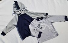 Gymboree Boys Shirt Sweatshirt Sz 3T Field Expedition Dinosuar Hood Long Zip Up
