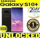 Samsung Galaxy S10+ Plus G975U1 (FACTORY UNLOCKED) 512GB CERAMIC BLACK ?O/ B?(w)