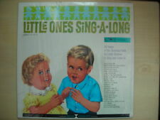 LITTLE ONES SING-A-ALONG Teach Records LP 1963