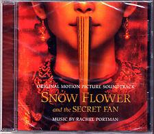 SNOW FLOWER AND THE SECRET FAN Rachel Portman OST CD Der Seidenfächer Wayne Wang