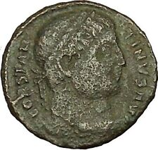 Constantine I the Great  326AD Ancient Roman Coin Military camp gate  i40296