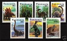 Tanzania 1991 Prehistoric Creatures SG 922/8 MNH