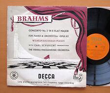 LXT 2723 O/G Brahms Piano Concerto no. 2 Backhaus Schuricht Decca (no stereo) VG