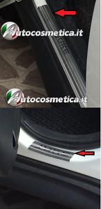 4 battitacchi per Nissan Juke 10-19 protezione soglia entrata Battitacco acciaio