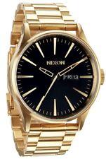 Reloj Hombre NIXON SENTRY A356510 de Acero inoxidable Dorado