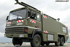 "*IXO Altaya THOMAS VMA 72 FIRE TRUCK AIRPORT ""MILITARY VERSION"" * in 1:43 Scale"