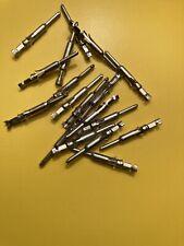 Quantity of 50 Amp 66593-1 Crimp Pin Contact 20-24ga brass/tin