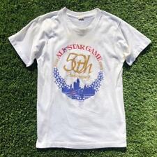 VTG 80s Screen Stars 1983 Chicago Baseball All Star Game SINGLE STITCH T Shirt S