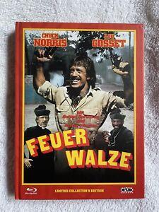 Feuerwalze Mediabook NSM Cover C Chuck Norris