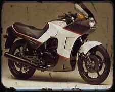 CAGIVA alzzurra 350 GT 85 A4 de Metal Sign moto antigua añejada De